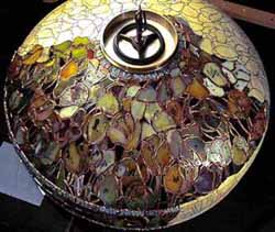 The making of Tiffany lamps