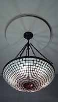 "24"" PARASOL CHANDELIER TIFFANY LAMP"